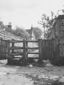 J28 Double swing gate - Studley Royal, Fountains Abbey, Yorkshire 1930